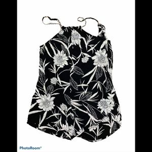3/$30 Billabong romper with cream coloured…